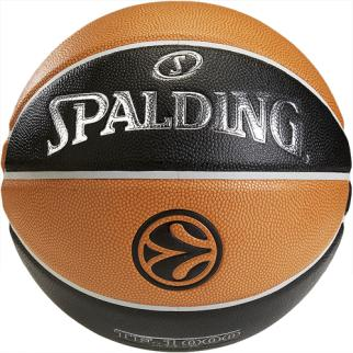 Spalding Basketball EUROLEAGUE TF 1000 - orange/schwarz|7